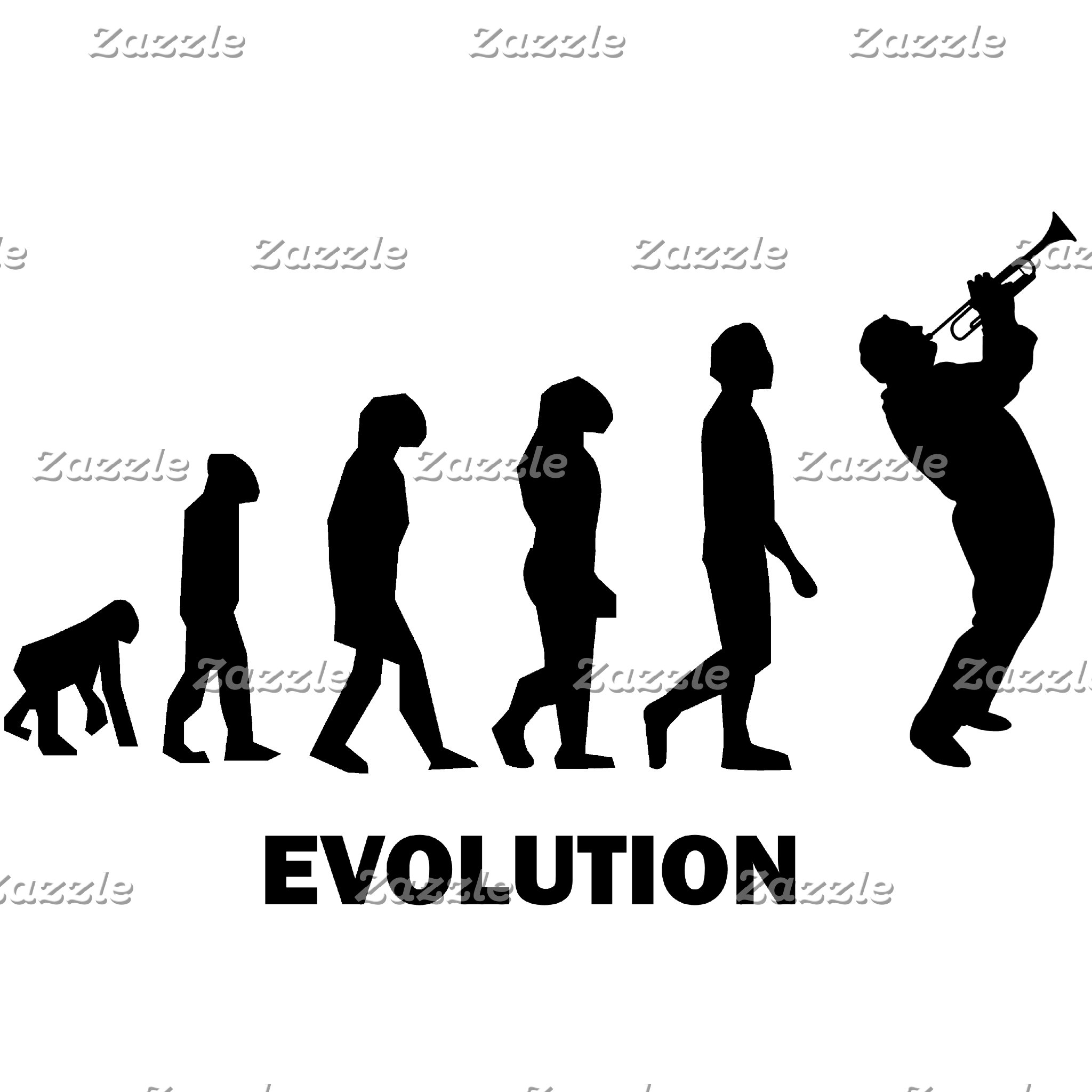 evolution trumpet player