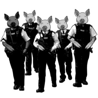 Anti police T shirts for anybody who's anti police