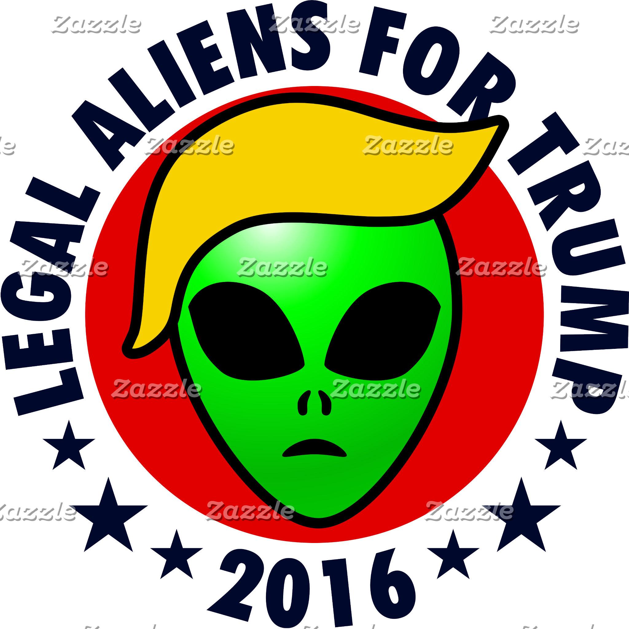 Aliens For Trump
