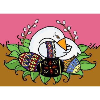 Pysanky (Ukrainian Easter Eggs) & Easter Greetings