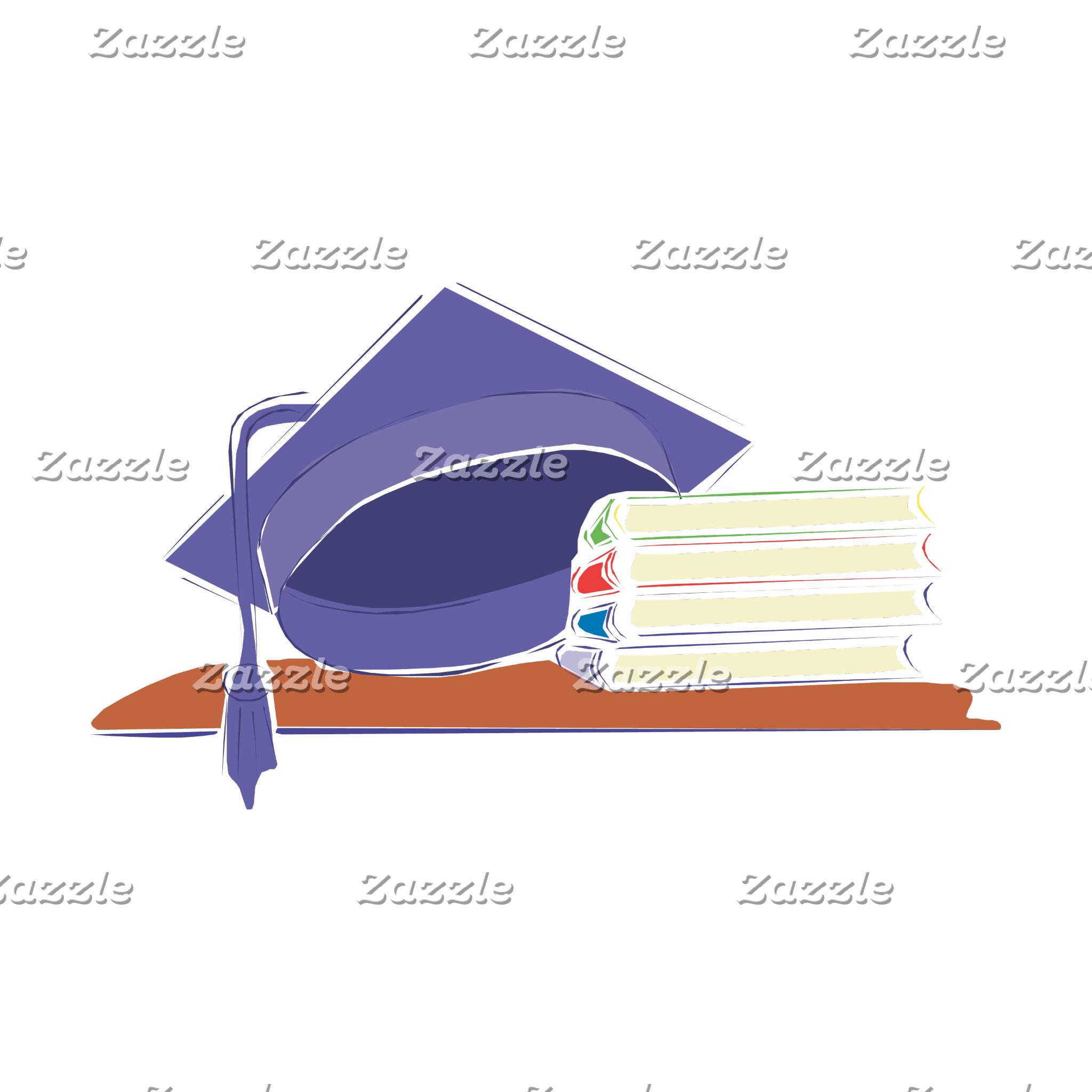 Cap & Books
