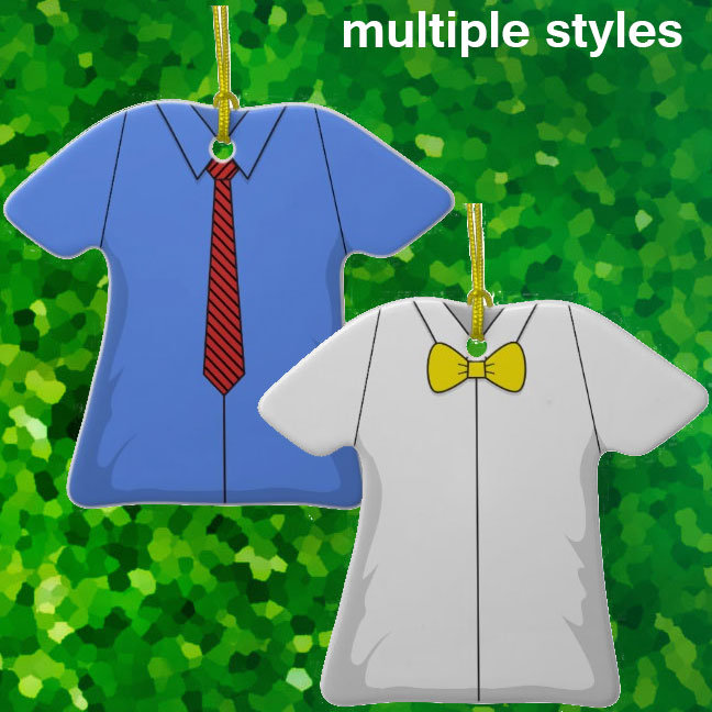 Dress Shirt Ornaments