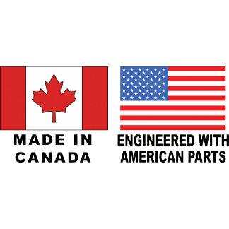 Canadian American T-Shirt