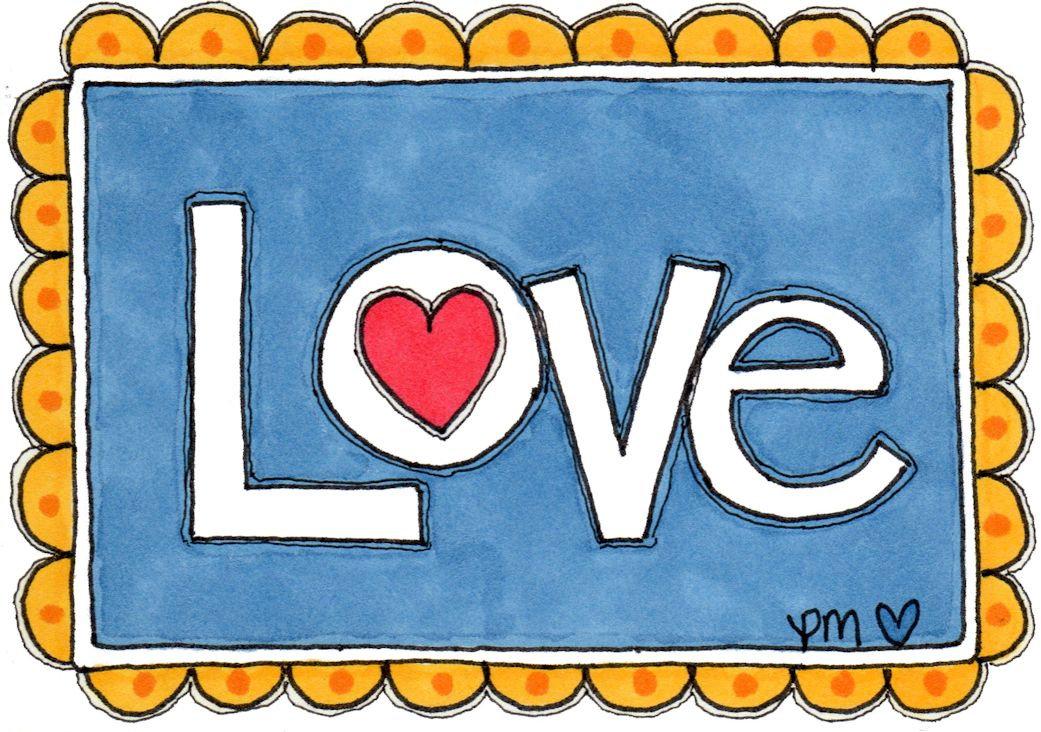 Doodled Love