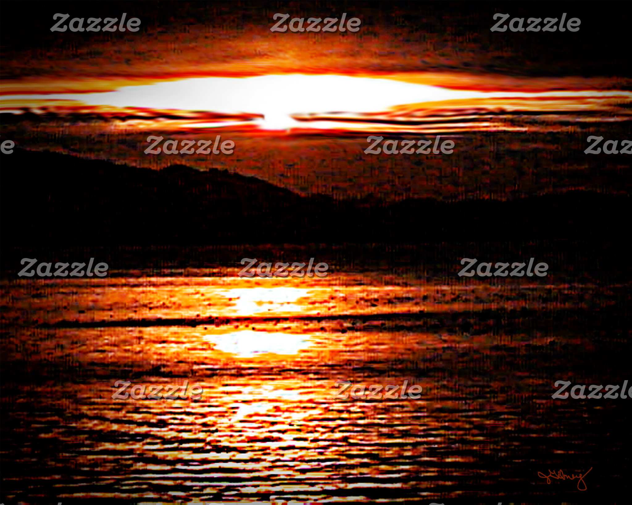 Austria Sunset Lake 2000 snap_001sig2 jGibney The