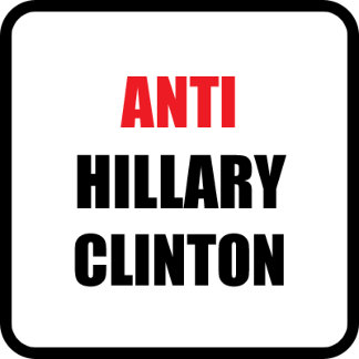 Anti Hillary Clinton
