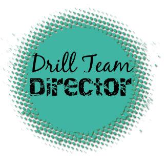 Drill Team Director Bubbles