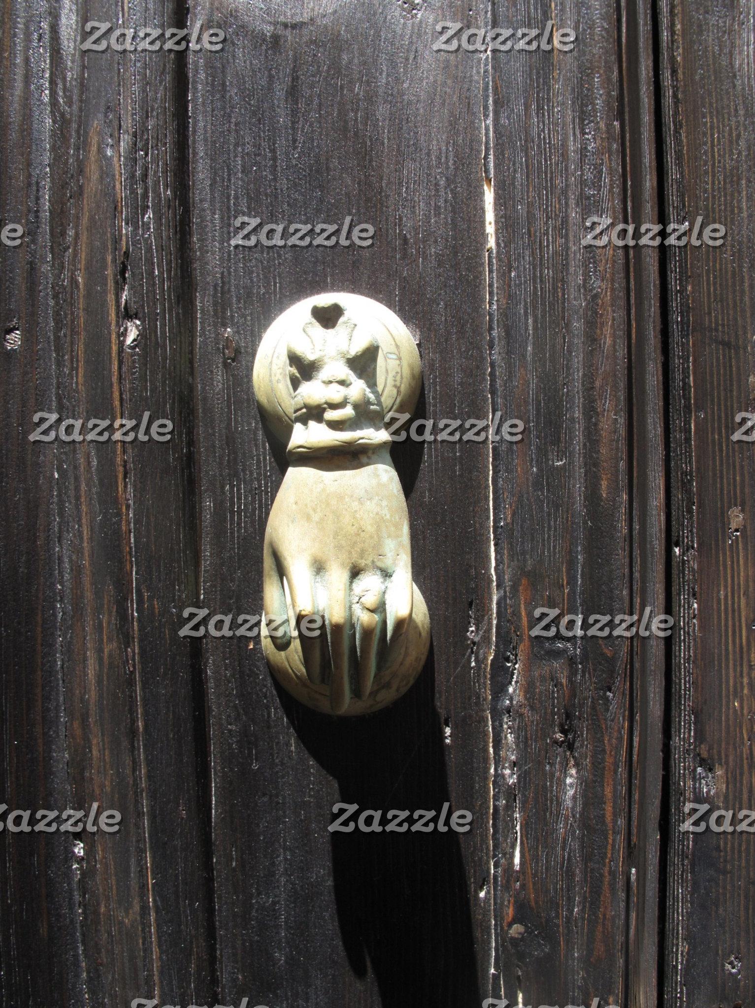 Hand Shaped Door Knocker