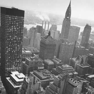 2nd May 1961:  The Chrysler building in New York