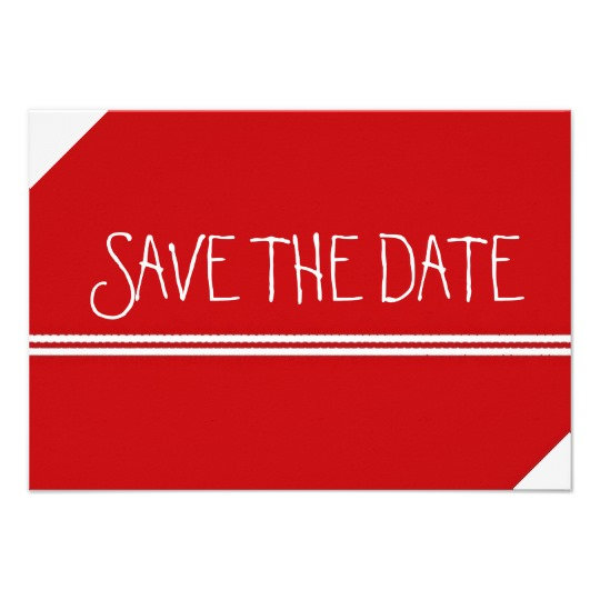 SAVE THE DATE including Wedding