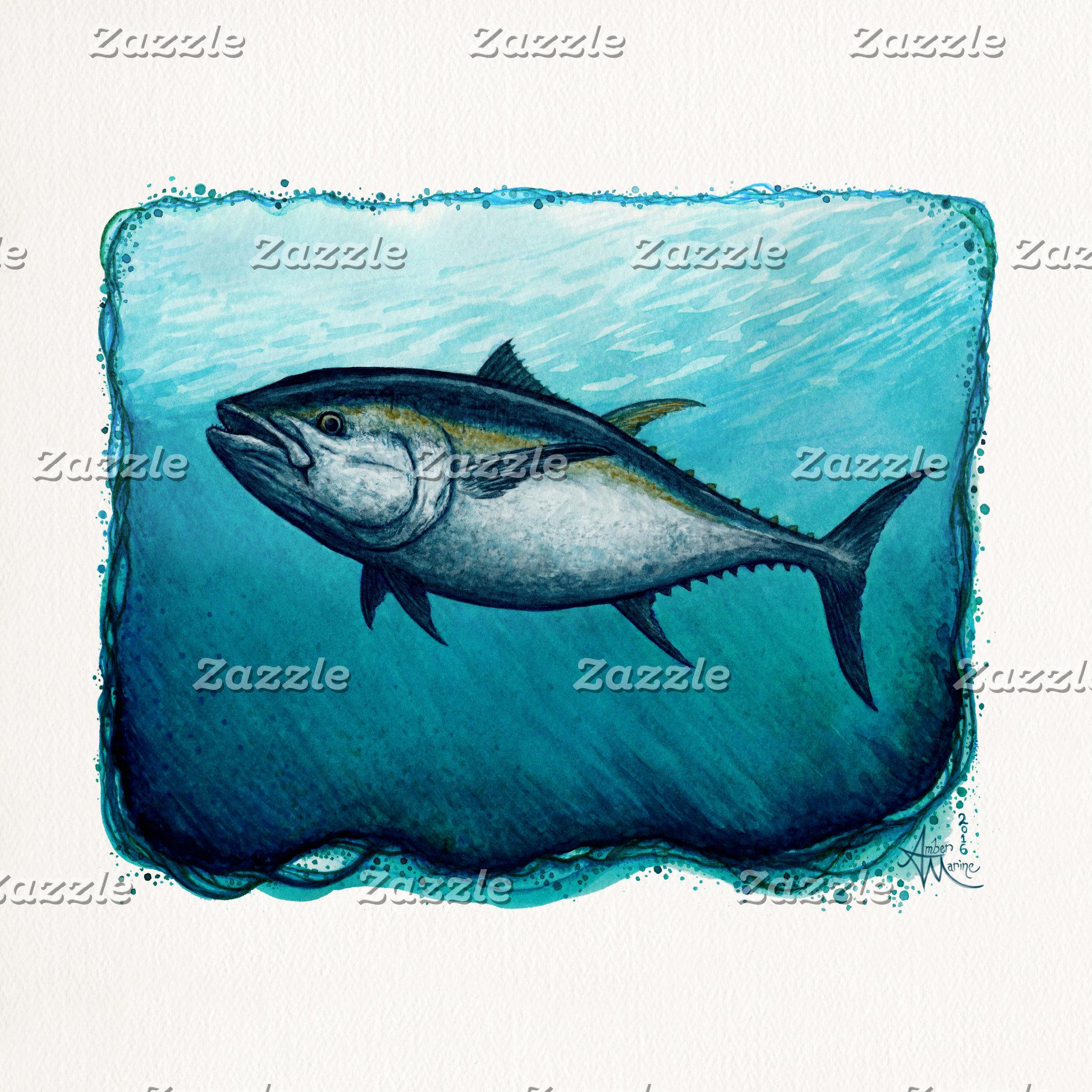 Art: Lone Bluefin