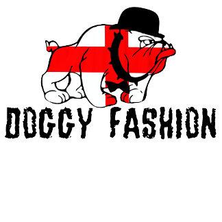 Innuendo T shirts-English flag doggy fashion theme