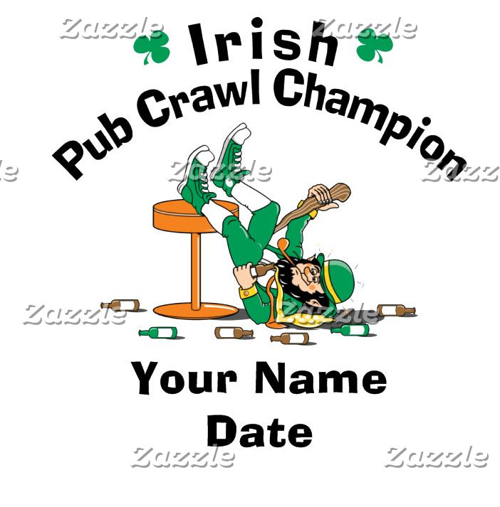Personalized Pub Crawl Champion T-Shirt