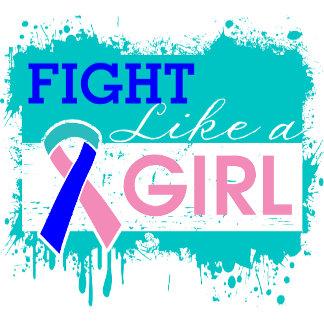 Thyroid Cancer Splatter Fight Like a Girl