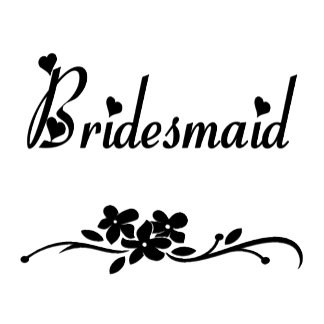 A Classic Bridesmaid