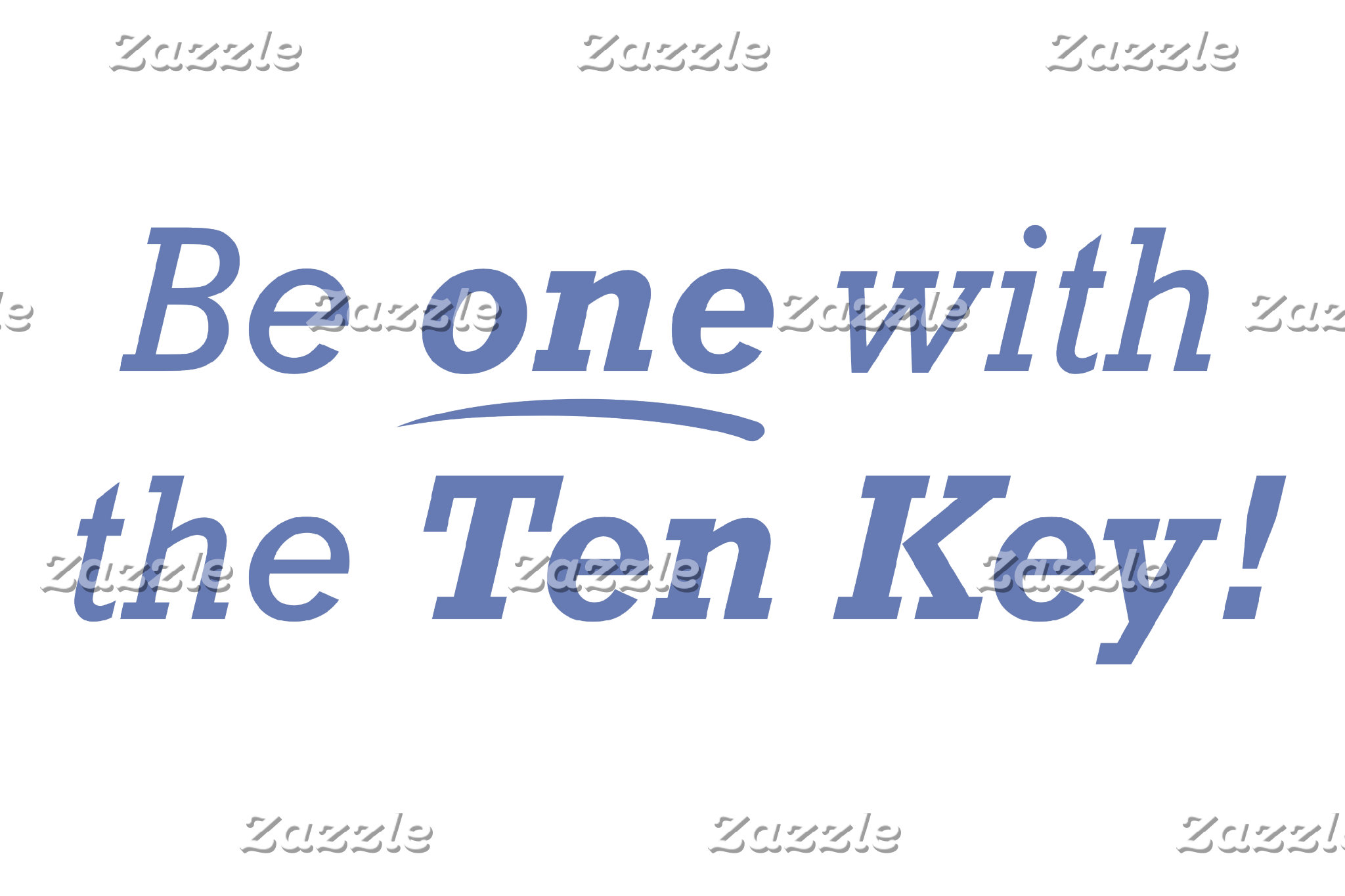 Be one with the Ten Key!
