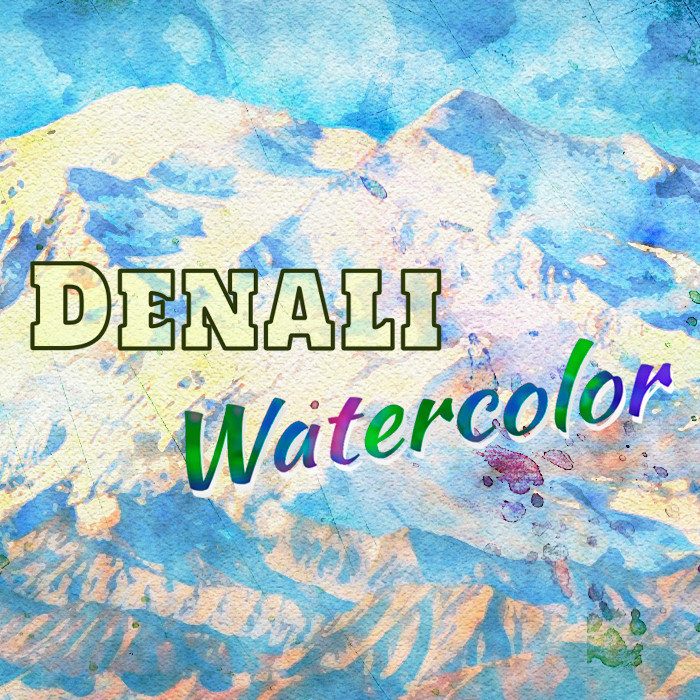 Denali Watercolor
