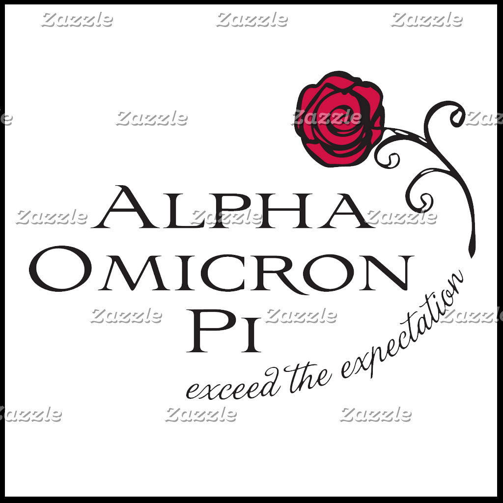 Alpha Omicron Pi Rose