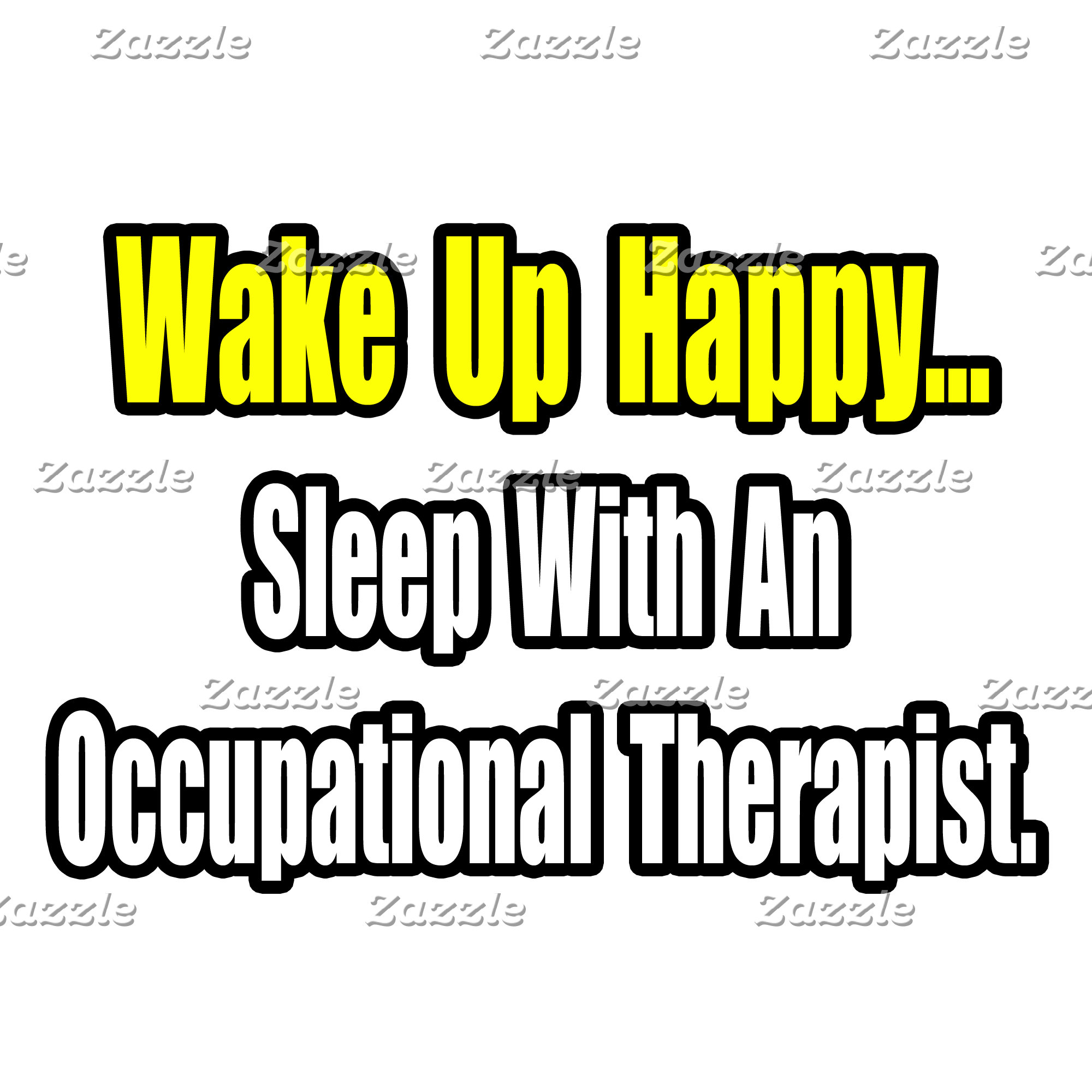 Sleep With An Occupational Therapist