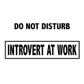 Introvert At Work