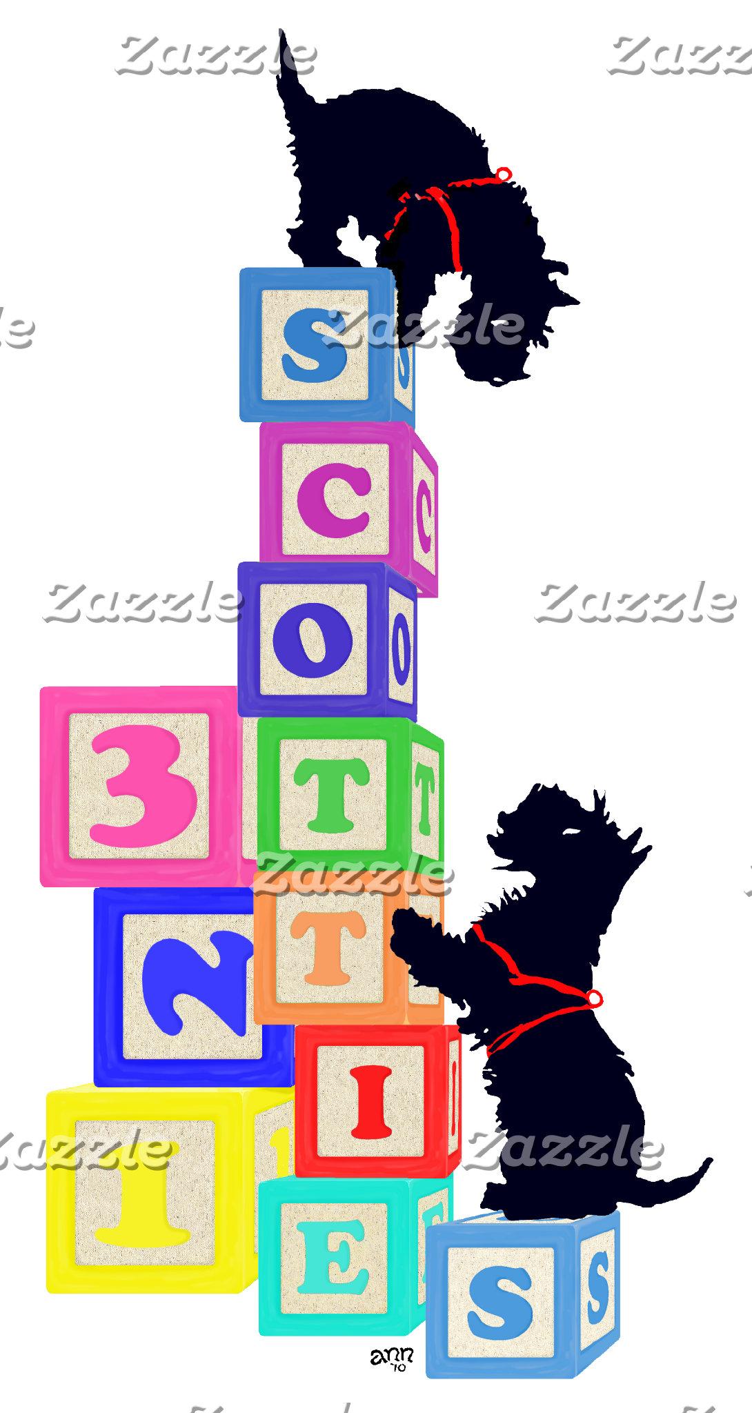 6 Scottie Blocks