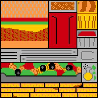 Blocky Juicy Burger Joint