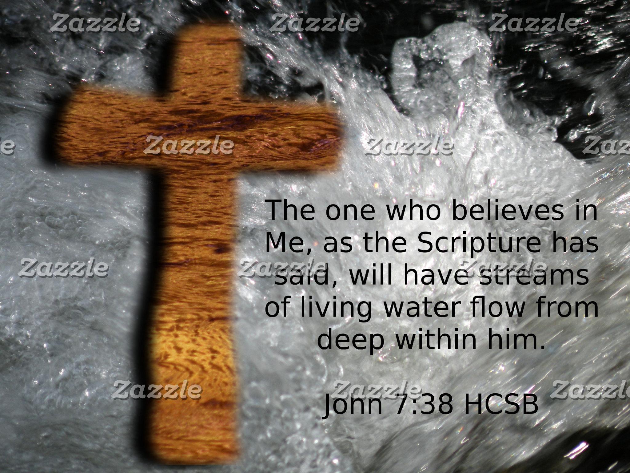 Living Water Cross - John 7:38