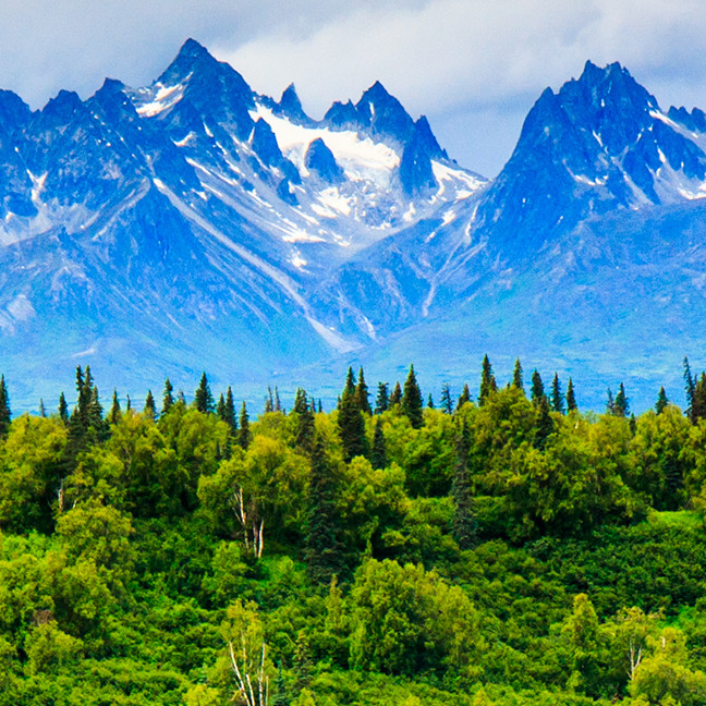 Majestic Alaska Mountains