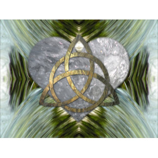 Living Water Triquetra and Heart