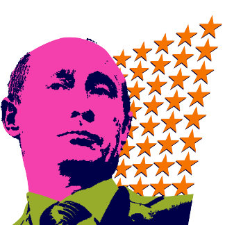 ➢ Vladimir Putin with Stars