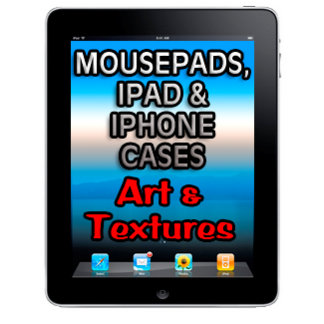 Mousepads, iPads & iPhone Cases, Artistic