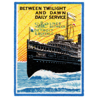 Detroit to Buffalo Steamship