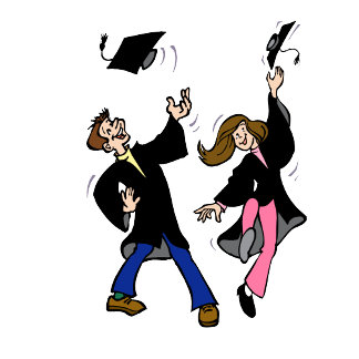 Twin Boy & Girl Graduates