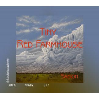 Tiny Red Farmhouse