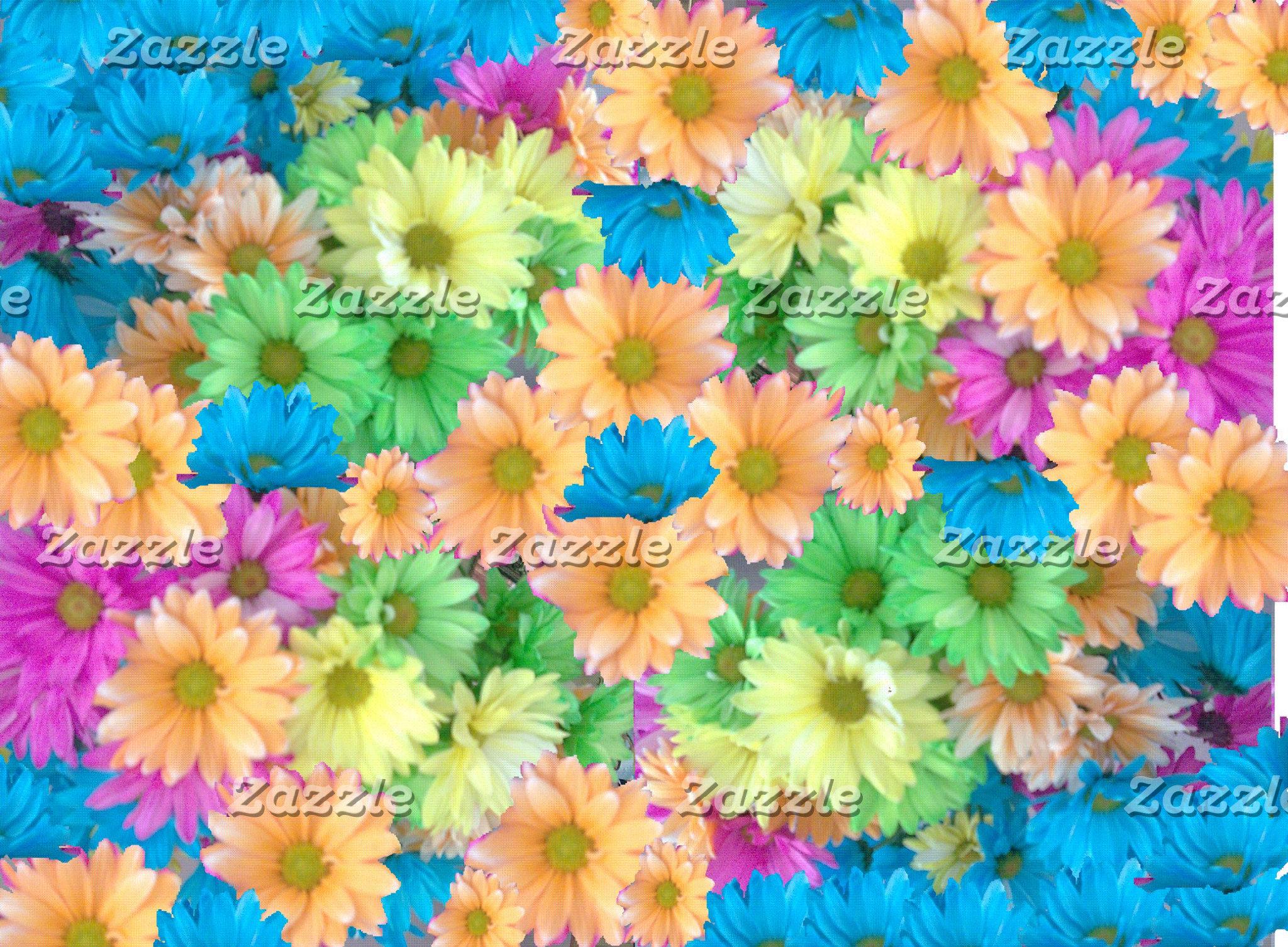 Crazy Color Carnations