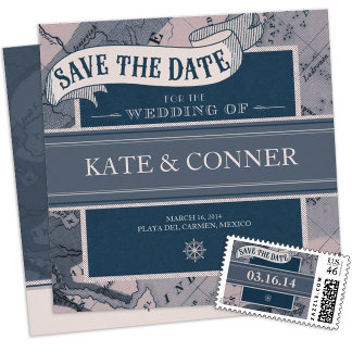 Save the Date Cards and Postage
