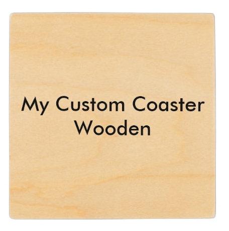 Custom Wood Coasters