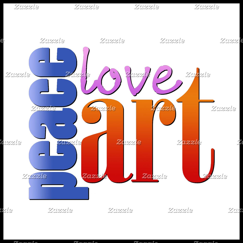 Peace Love Art II