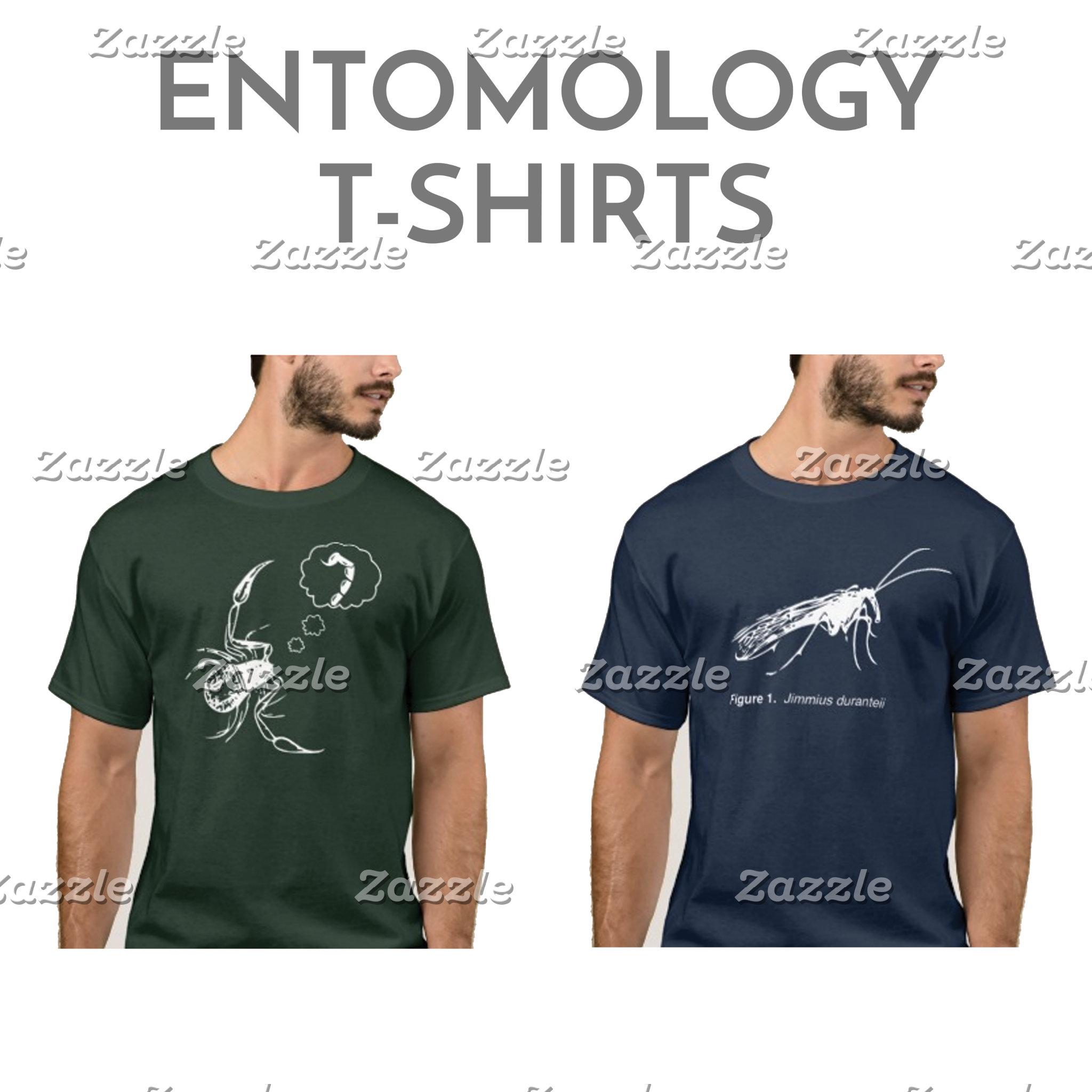 Entomology T-shirts