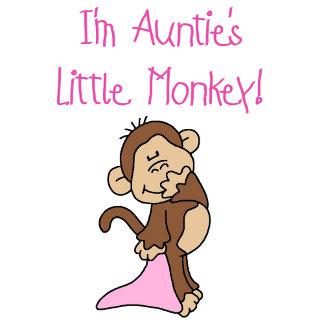 Auntie's Little Monkey - Pink