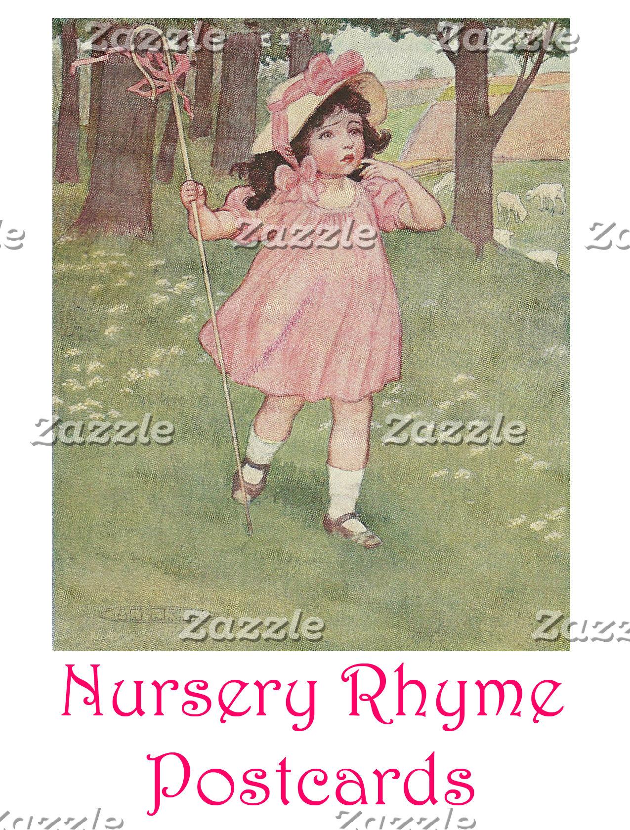 Nursery Rhyme Postcards