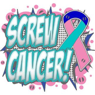 Screw Thyroid Cancer Comic Style