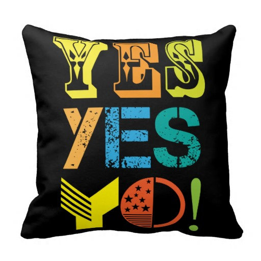 funky quotes pillows