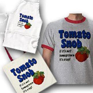Tomato Snob Funny Gardener Saying