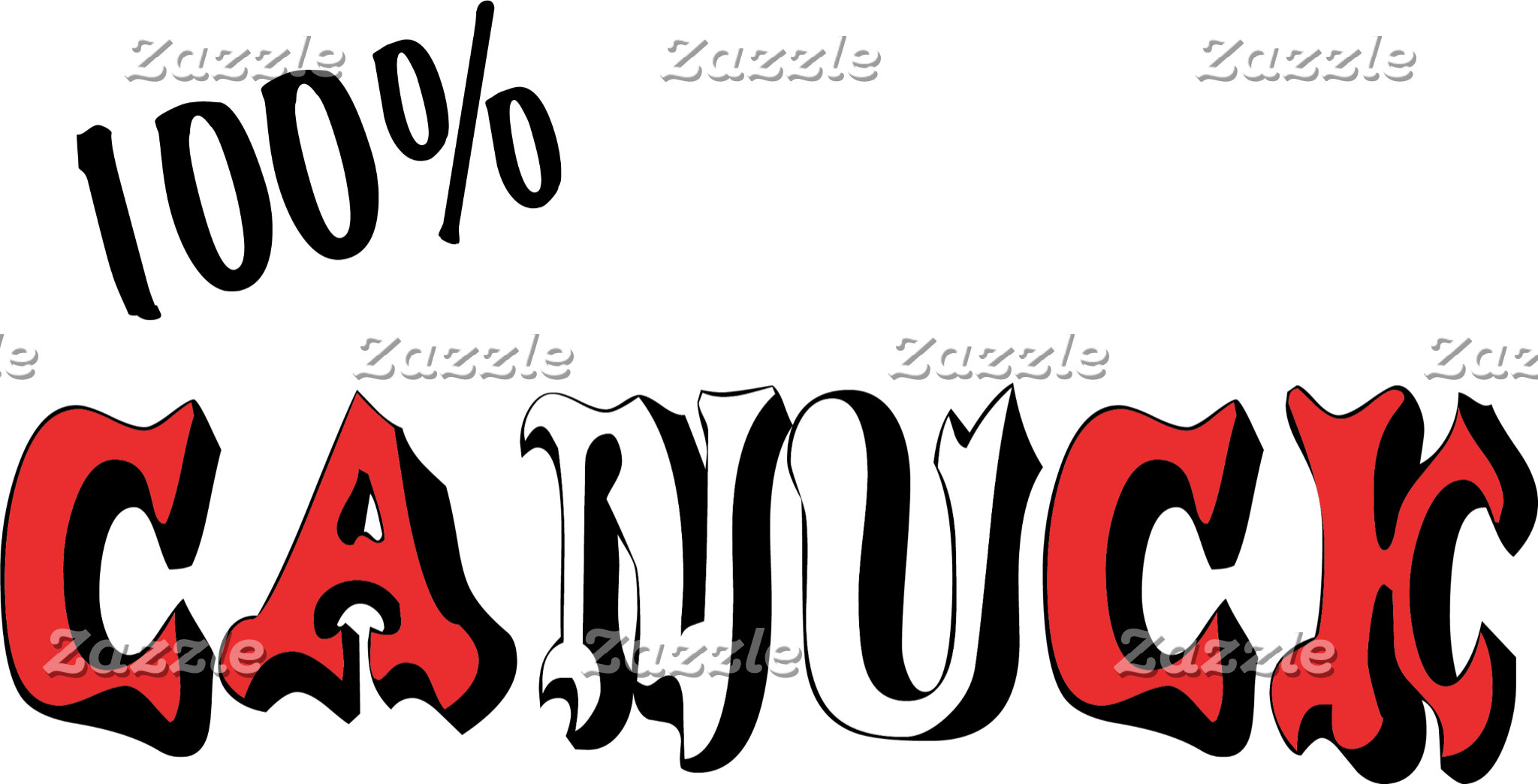 100% Canuck Canadian T-Shirt Gift Cards