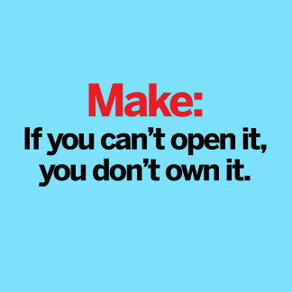If you can't open it