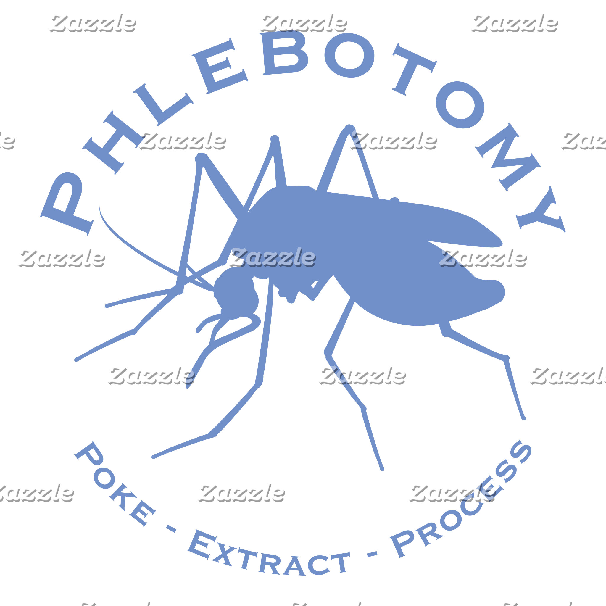 Phlebotomy - Poke - Extract - Process