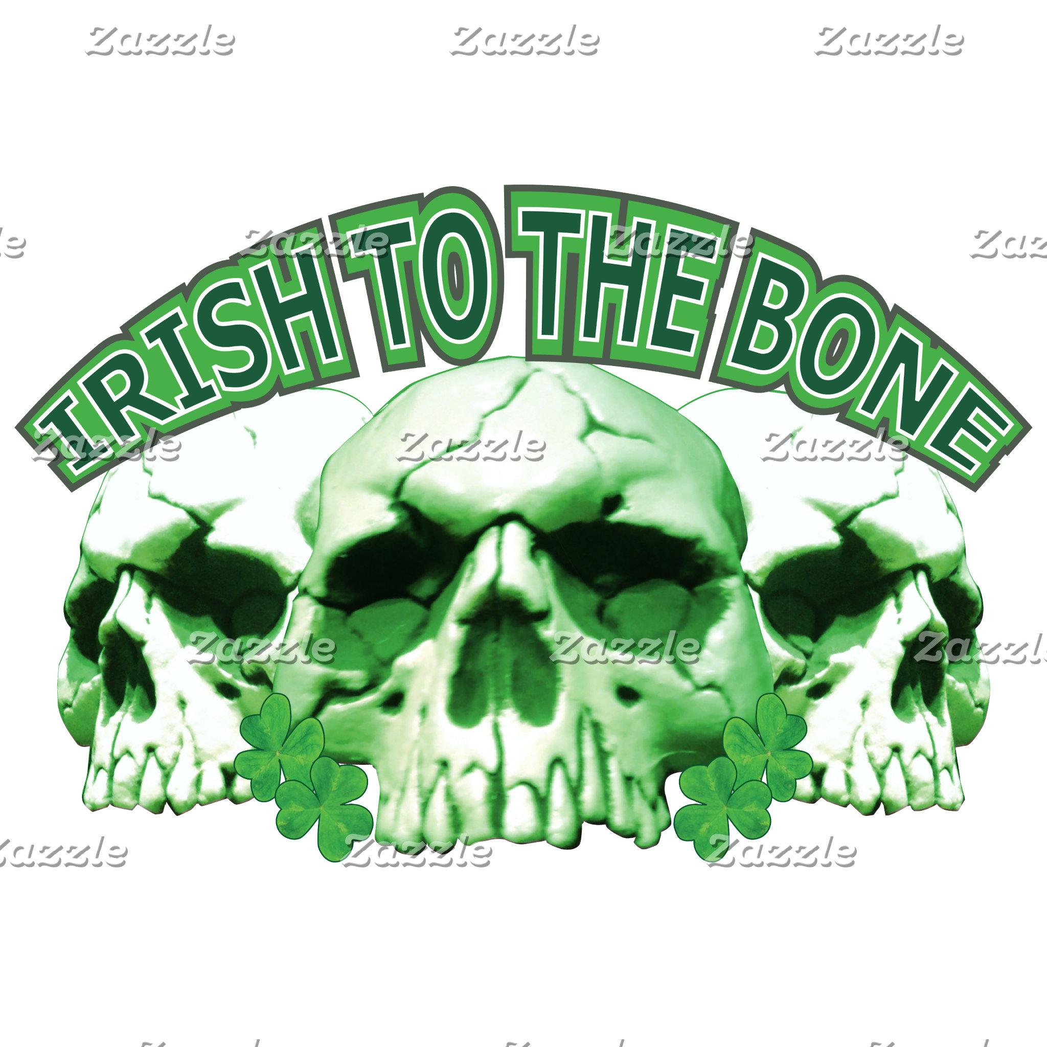 Irish to the Bone Skull