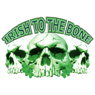 Irish to the Bone Skull