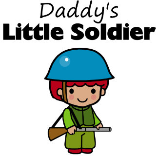 Daddy's Little Soldier (boy)